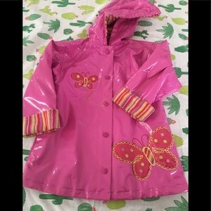 Kids raincoat by Carter's size M 5/6